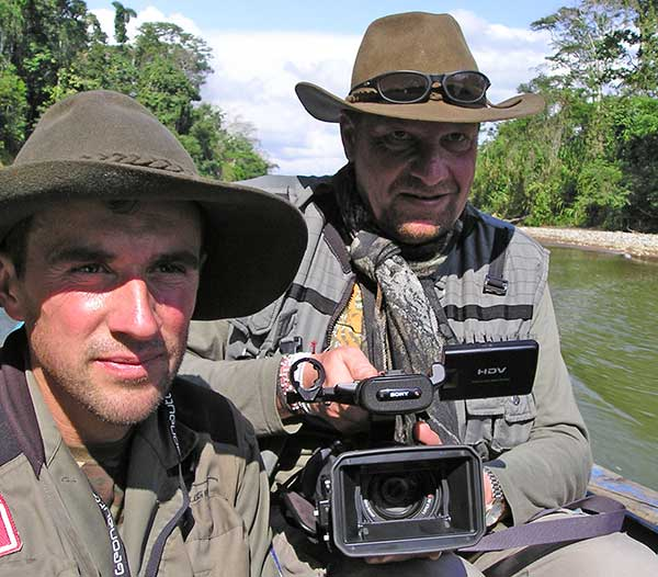 Incamazonia, premier documentaire de Jungle Doc