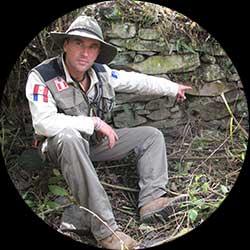 Thierry Jamin, explorateur et fondateur de Jungle Doc