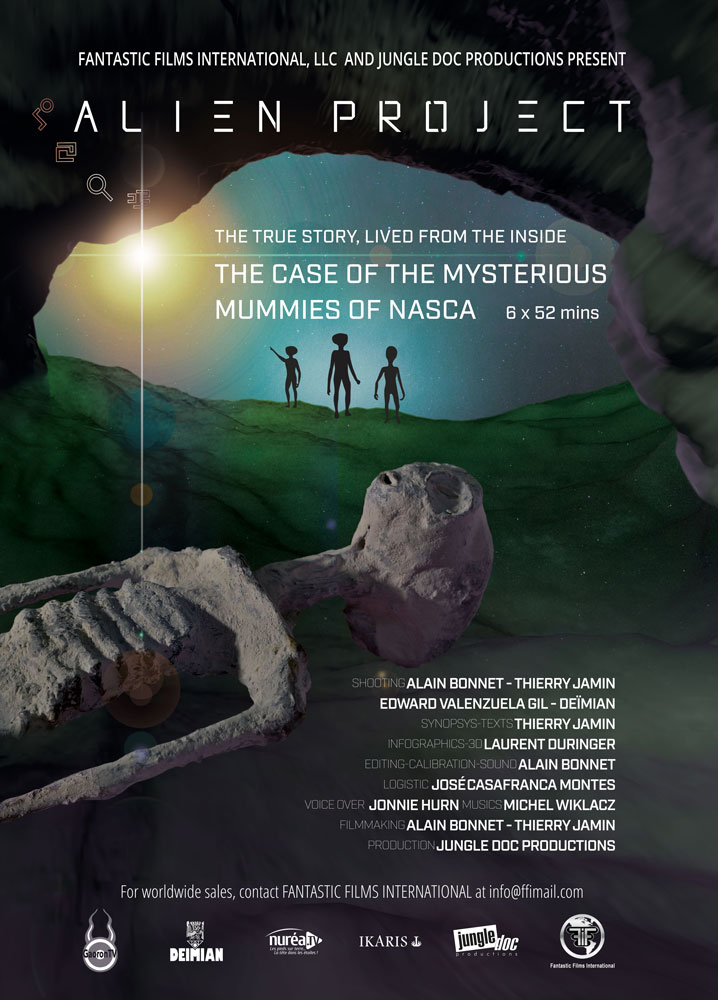 Alien Project - The case of the mysterious mummies of Nasca
