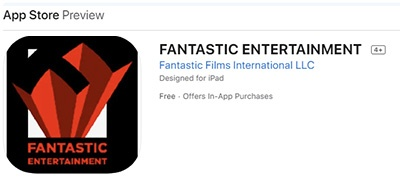 Fantastic Entertainment sur l'Apple Store