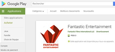 Fantastic Entertainment sur Google Play